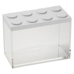 Brick Store contenitore in stile lego colore bianco