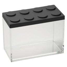 Brick Store contenitore in stile lego colore nero