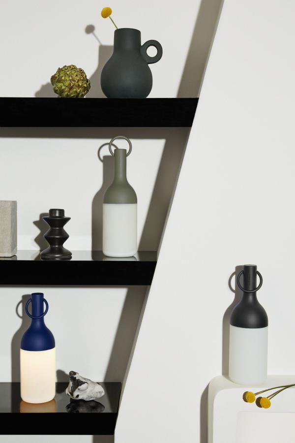 ELO lampada da tavolo a led colore nero
