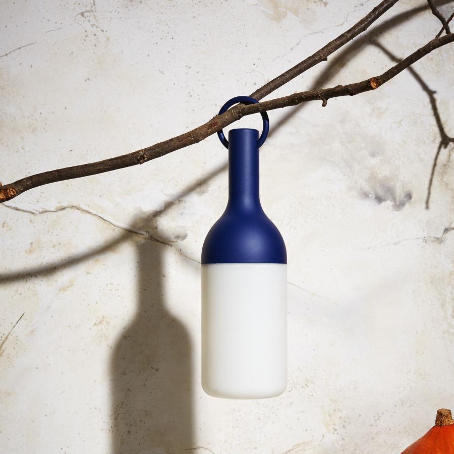 Elo lampada a led da tavolo colore blu