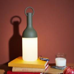 Elo lampada da tavolo a led colore verde