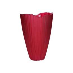 Vaso rosso Tulip