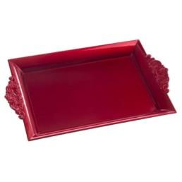 Vassoio Natalizio rosso