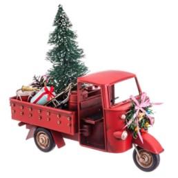Motocarro natalizio