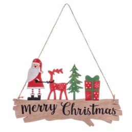 Decorazione da appendere Babbo Natale