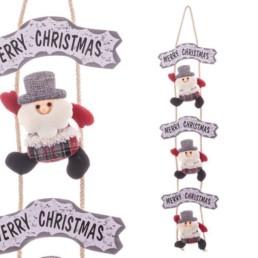 Dietro porta Babbo Natale