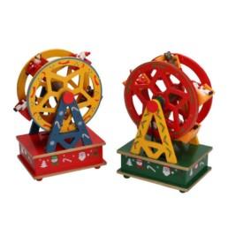 Carillon legno giostrina a ruota