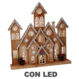 Casette decorative con led