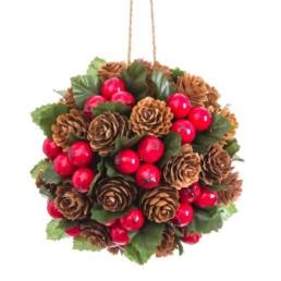 Sfera decorativa natalizia