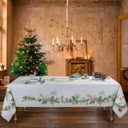 Tovaglia natalizia Agrifoglio